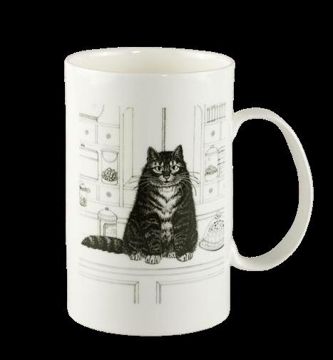 """Porcelāna krūze """"Kaķis"""""""