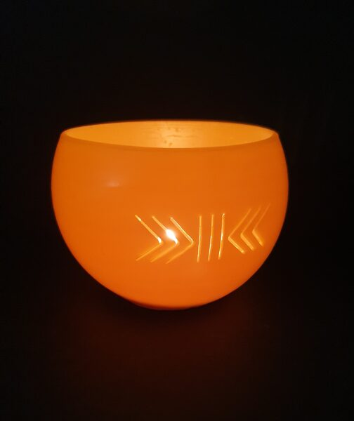 "Beeswax lantern ""Happiness Broom"""