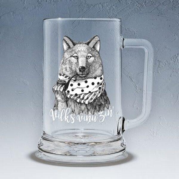 """Пивная чаша """"Волк"""""""