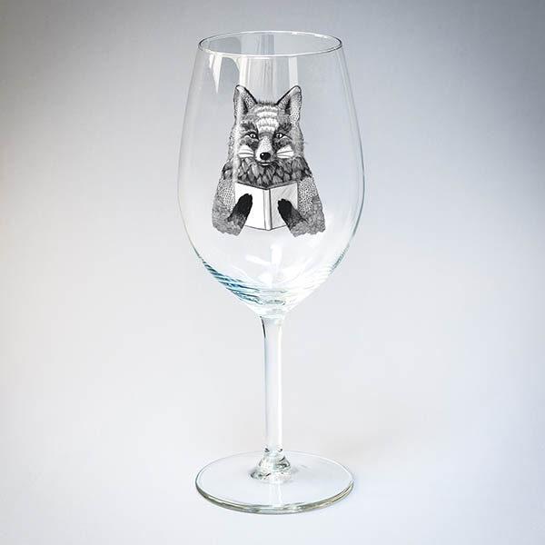 "Бокал для вина ""Лисица"""