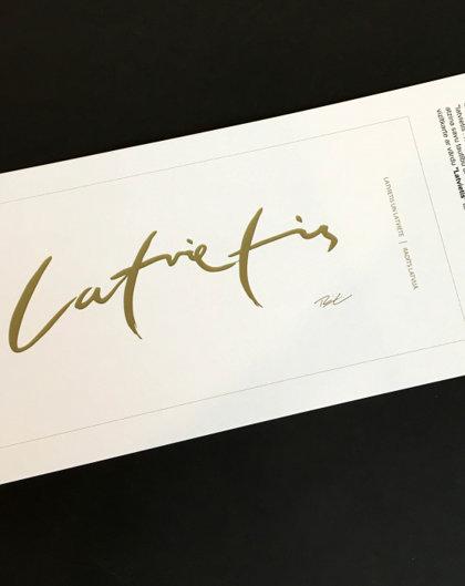 Carsticker's Latvian, gold
