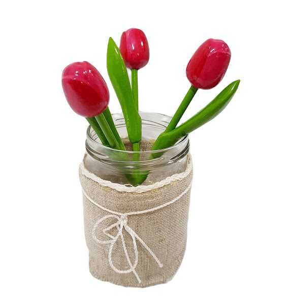 Tulips from wood MKT10