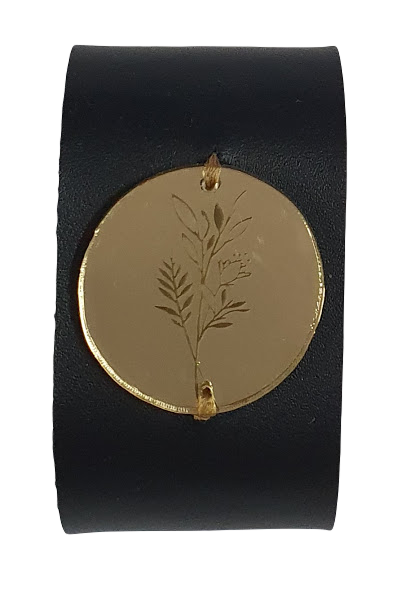 Кожаный браслет KKR20