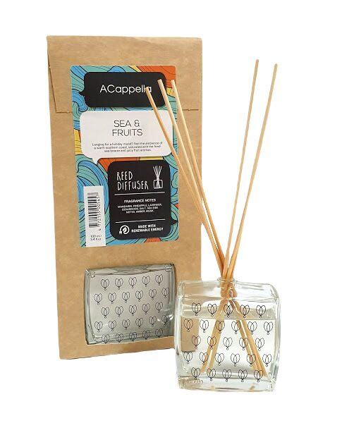 Home fragrance SEA & FRUIT with bamboo sticks, 100ml
