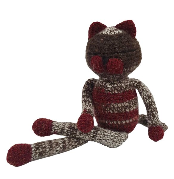"Toy ""Sleeping Cat"" Nr.4"