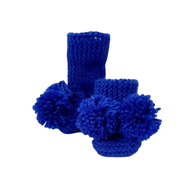 Knitted booties for baby ZMK6