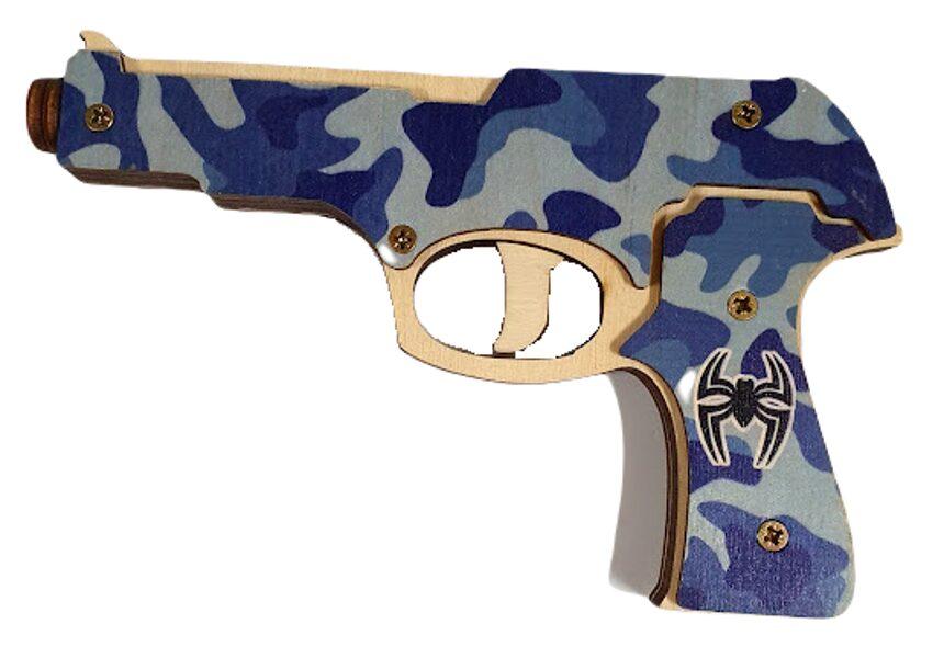 Пистолет деревянний