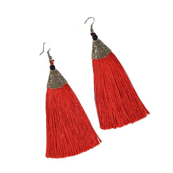 """Fringe earrings """"Ethno"""" BAS7"""