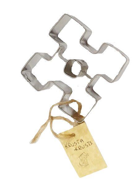 Metal mold for cookies Cross
